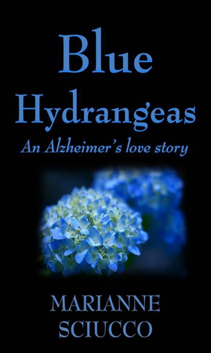 Blue Hydrangeas by Marianne Sciucco